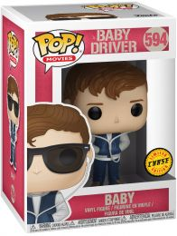 Figurine Funko Pop Baby Driver #594 Baby [Chase]