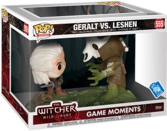 Figurine Funko Pop The Witcher 3: Wild Hunt #555 Geralt vs Leshen