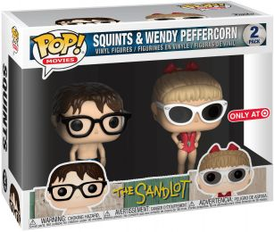 Figurine Funko Pop Le Gang des champions #0 Wendy & Squints - 2 pack