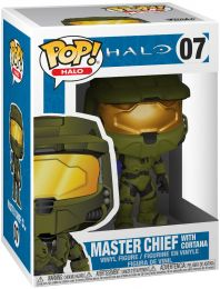 Figurine Funko Pop Halo #7 Master Chief avec Cortana