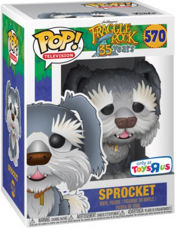 Figurine Funko Pop Fraggle Rock #570 Sprocket
