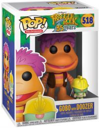 Figurine Funko Pop Fraggle Rock #518 Gobo avec Doozer