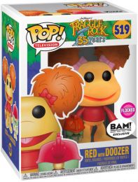Figurine Funko Pop Fraggle Rock #519 Red avec Doozer - Floqué