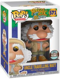 Figurine Funko Pop Fraggle Rock #571 Oncle Voyageur Matt
