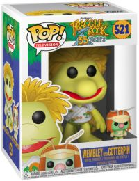 Figurine Funko Pop Fraggle Rock #521 Wembley avec Coterpin