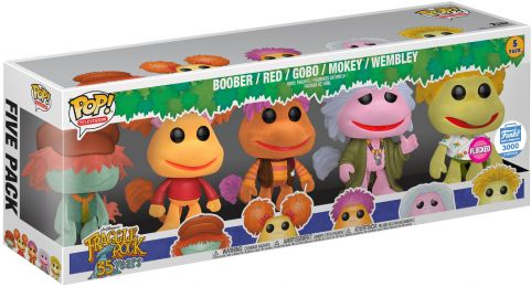Figurine Funko Pop Fraggle Rock #0 Fraggle Rock - floqué - 5 Pack