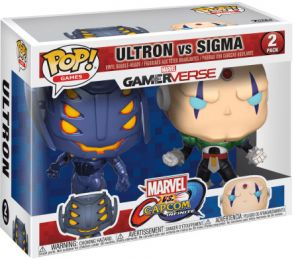 Figurine Funko Pop Marvel Gamerverse #0 Ultron vs Sigma - 2 pack