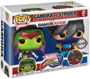 Figurine Funko Pop Marvel Gamerverse #0 Gamora vs Strider - 2 pack