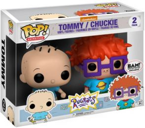 Figurine Funko Pop Les Razmoket #0 Tommy & La Binocle- 2 pack