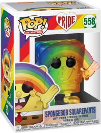 Figurine Funko Pop It Gets Better Project #558 Bob l'Éponge Carrée - Arc-en-ciel