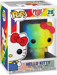 Figurine Funko Pop It Gets Better Project #28 Hello Kitty - Arc-en-ciel