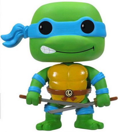 Figurine Funko Pop Tortues Ninja #63 Leonardo
