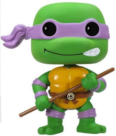 Figurine Funko Pop Tortues Ninja #60 Donatello