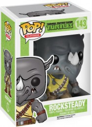 Figurine Funko Pop Tortues Ninja #143 Rocksteady