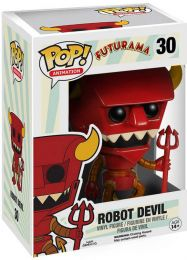 Figurine Funko Pop Futurama #30 Robot Devil