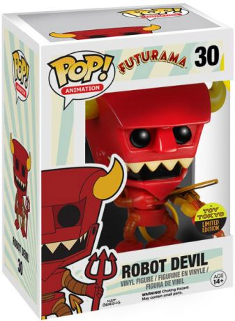 Figurine Funko Pop Futurama #30 Robot Devil avec Violon