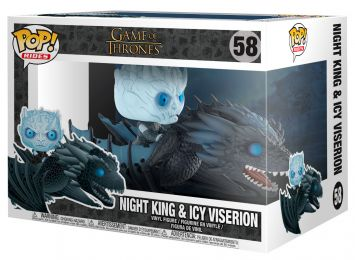 Figurine Funko Pop Game of Thrones #58 Roi de la Nuit & Viserion de glace