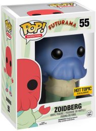 Figurine Funko Pop Futurama #55 Univers Alternatif Zoidberg