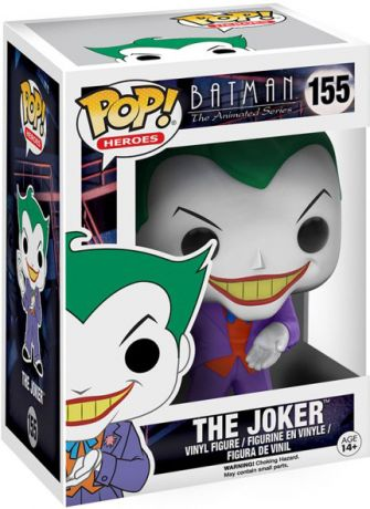 Figurine Funko Pop Batman : Série d'animation [DC] #155 Le Joker