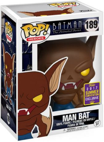 Figurine Funko Pop Batman : Série d'animation [DC] #189 Manbat