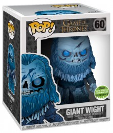 Figurine Funko Pop Game of Thrones #60 Spectre géant - 15 cm