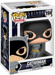 Figurine Funko Pop Batman : Série d'animation [DC] #194 Catwoman