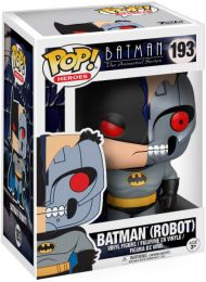 Figurine Funko Pop Batman : Série d'animation [DC] #193 Batman (Robot)