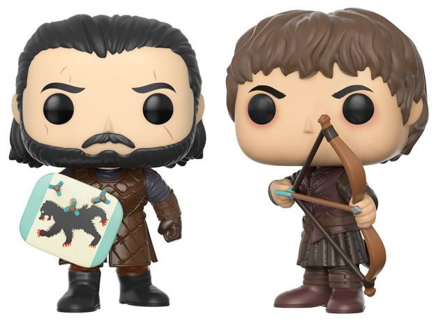 Figurine Funko Pop Game of Thrones #00 La Bataille des bâtards - 2 Pack