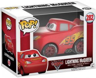 Figurine Funko Pop Cars [Disney] #282 Flash McQueen