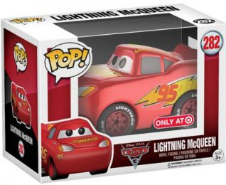 Figurine Funko Pop Cars [Disney] #282 Flash McQueen - Chromé
