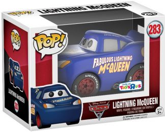 Figurine Funko Pop Cars [Disney] #283 Flash McQueen Bleu