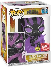 Figurine Funko Pop Black Panther [Marvel] #612 Black Panther - Brillant dans le noir
