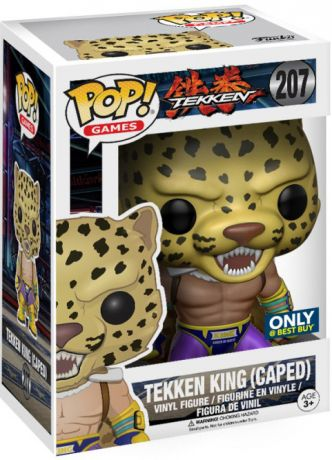 Figurine Funko Pop Tekken #207 Tekken King (Avec Cape)