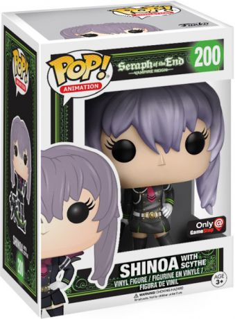 Figurine Funko Pop Seraph of the End #200 Shinoa avec Faux