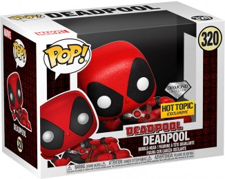 Figurine Funko Pop Deadpool [Marvel] #320 Deadpool - Pailleté