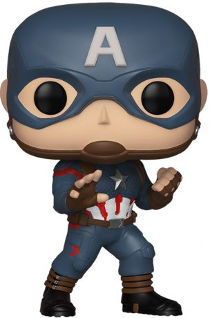 Figurine Funko Pop Avengers : Endgame [Marvel] #450 Captain America