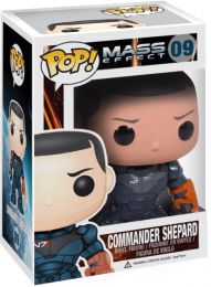 Figurine Funko Pop Mass Effect #9 Commandant Shepard