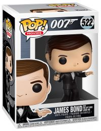 Figurine Funko Pop James Bond 007 #522 James Bond - L'Espion qui m'aimait