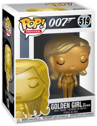 Figurine Funko Pop James Bond 007 #519 Golden Girl - Goldfinger