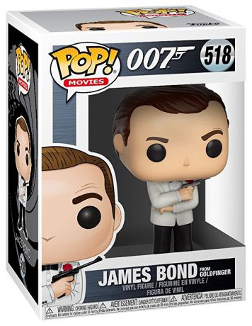 Figurine Funko Pop James Bond 007 #518 James Bond - Goldfinger