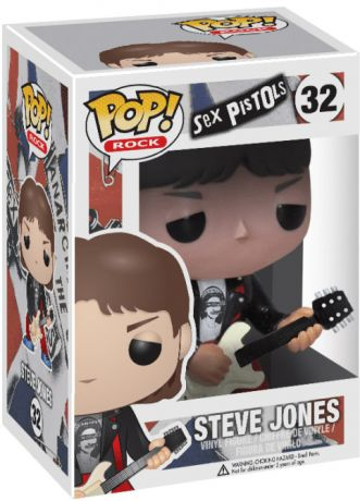 Figurine Funko Pop Sex Pistols #32 Steve Jones