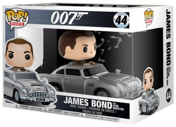Figurine Funko Pop James Bond 007 #44 James Bond - Avec Aston Martin DB5