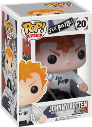 Figurine Funko Pop Sex Pistols #20 Johnny Rotten