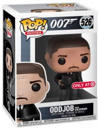 Figurine Funko Pop James Bond 007 #526 Oddjob - Jetant son chapeau
