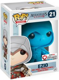 Figurine Funko Pop Assassin's Creed #21 Ezio - Bleu
