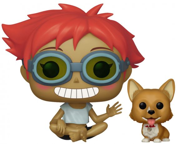 Figurine Funko Pop Cowboy Bebop #470 Ed and Ein