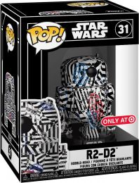 Figurine Funko Pop Star Wars : Futura #31 R2-D2