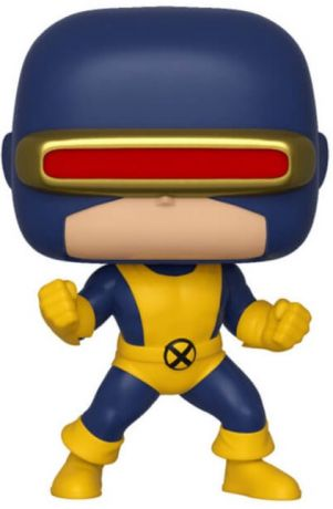 Figurine Funko Pop Marvel Comics #502 Cyclops - T-shirt & Brillant dans le noir
