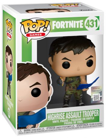 Figurine Funko Pop Fortnite #431 Highrise Assault Trooper