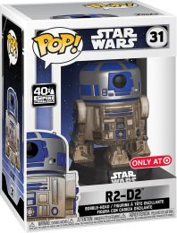 Figurine Funko Pop Star Wars 5 : L'Empire Contre-Attaque #31 R2-D2